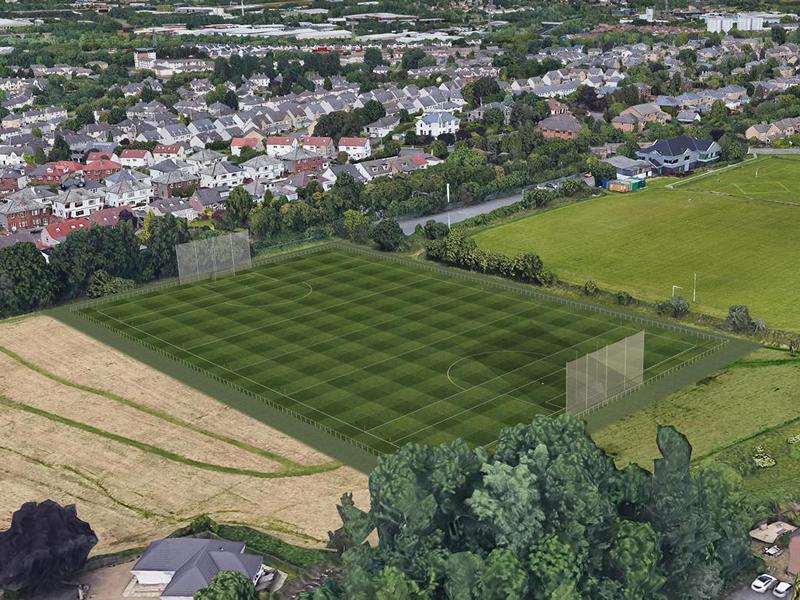 Glasgow GAA club Tir Conaill Harps announce pitch redevelopment plans