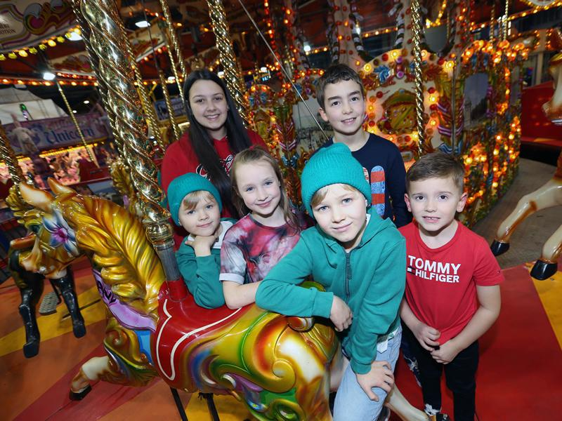Six Glasgow youngsters get early festive treat with unlimited Carnival access