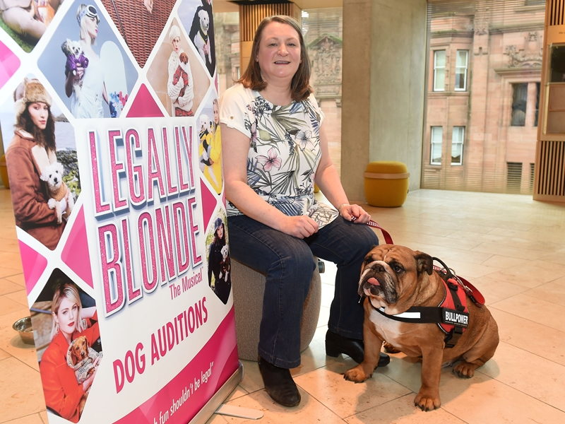 Dog casting confirmed after Legally Blonde auditions