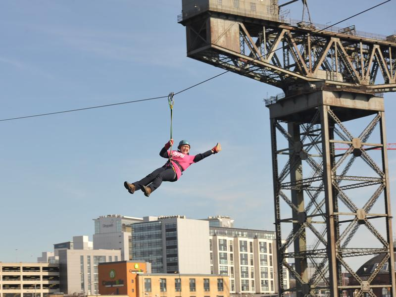 Breast Cancer Care: Zip Slide the Clyde