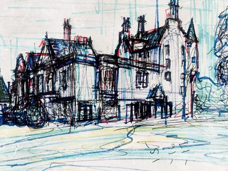 Sketching Lauriston