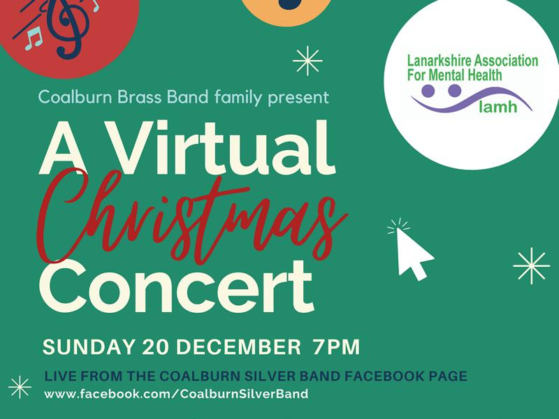 A Virtual Christmas Concert in aid of LAMH