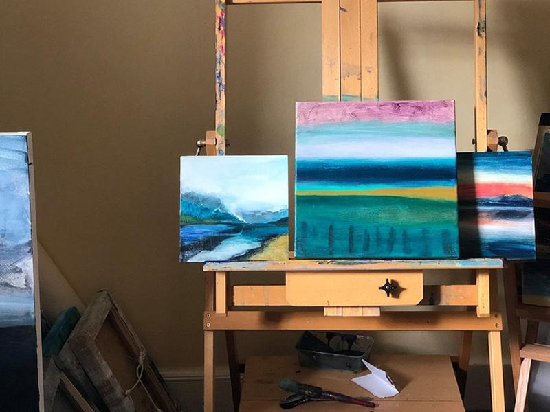 Painting Landscapes - A Workshop Series with Orla Stevens