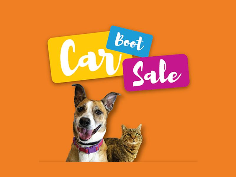 Charity Car Boot Sale in aid of Edinburgh Dog and Cat Home