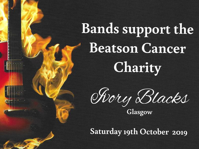 Bands support the Beatson Cancer Charity