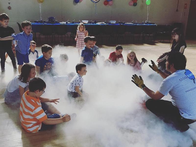 Families will be on cloud nine with science experiment fun