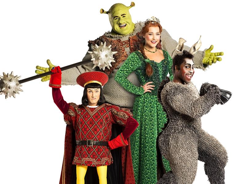 Shrek stomps into Glasgow