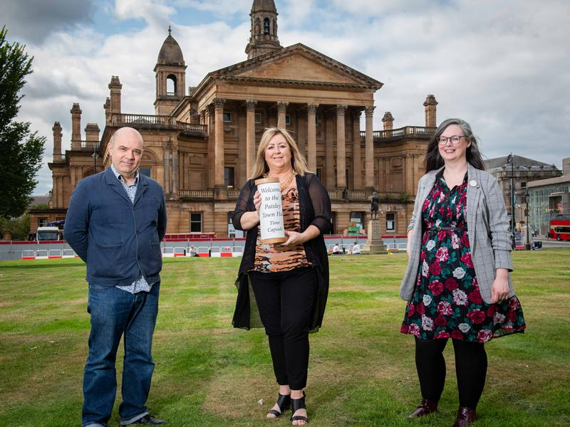 Local memories become part of Paisley Town Hall legacy