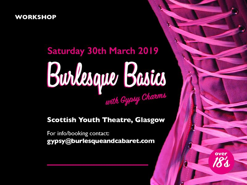 Burlesque Basics Workshop with Gypsy Charms