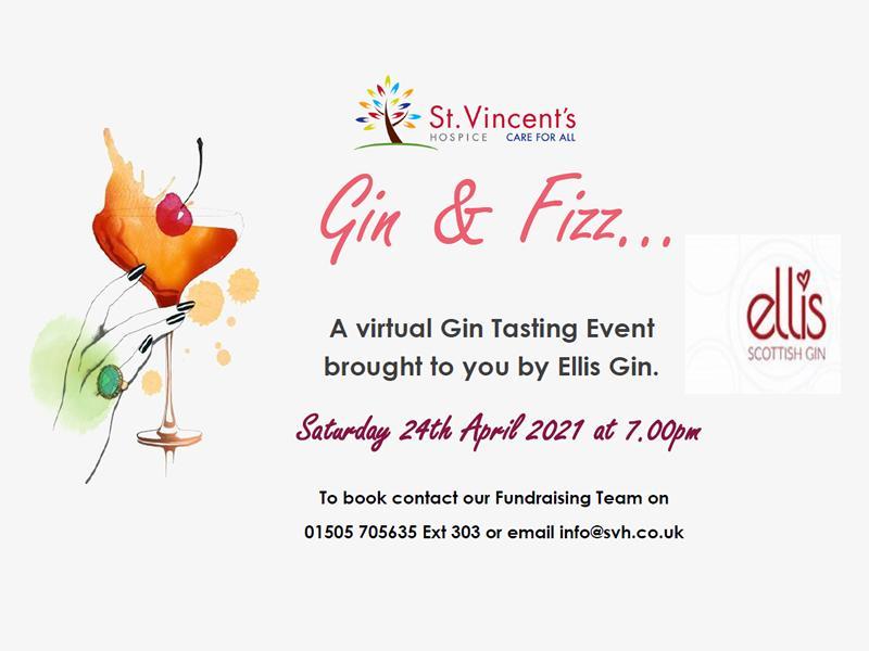 Gin & Fizz Virtual Gin Tasting Event