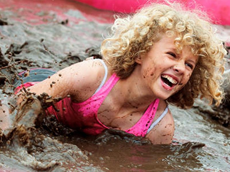 Edinburgh Pretty Muddy Kids 5k