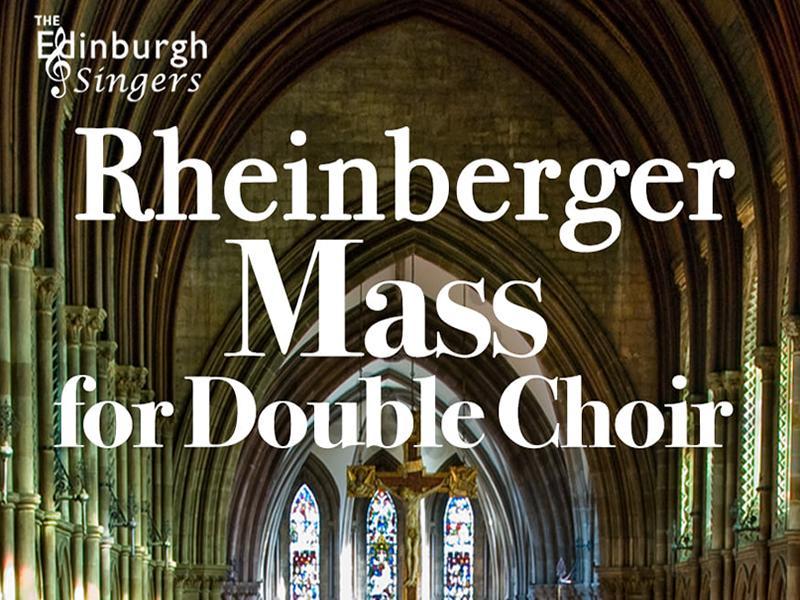 Rheinberger Mass for Double Choir