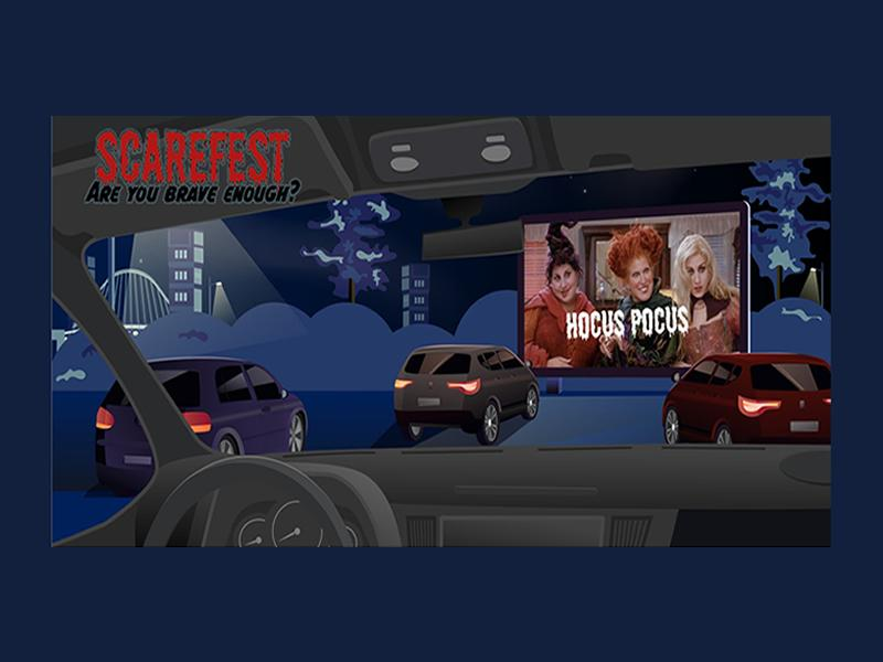 Scarefest at the Drive In
