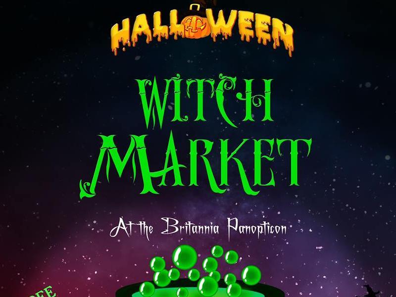 Halloween Witch Market