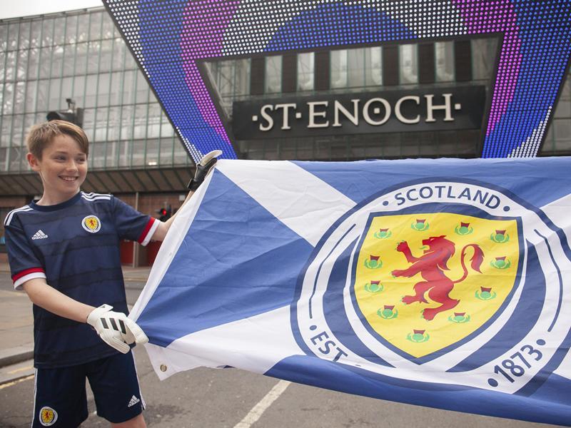 St. Enoch Centre set to inspire next generation of Scotland stars