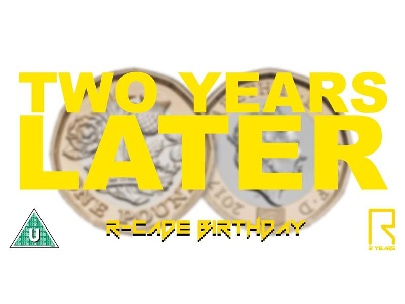 R-CADE Birthday: Two Years Later...