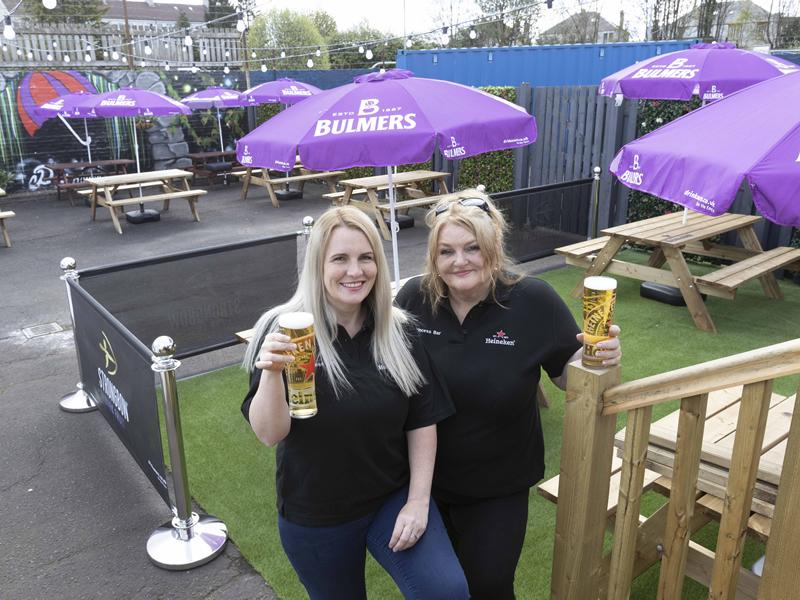 Glasgow pub reopens after 13 month closure with one of the largest beer gardens in the East End