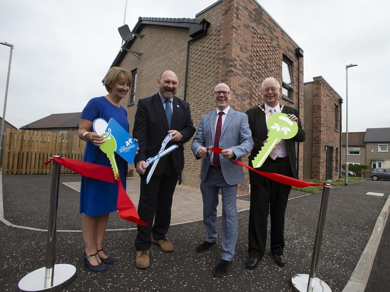 New council houses officially opened