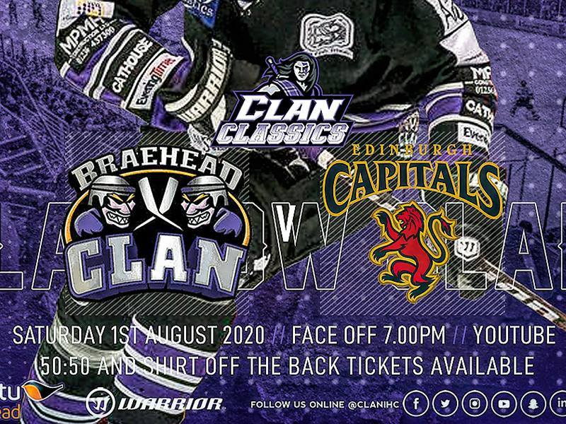 Clan Classics - Braehead Clan v Edinburgh Capitals