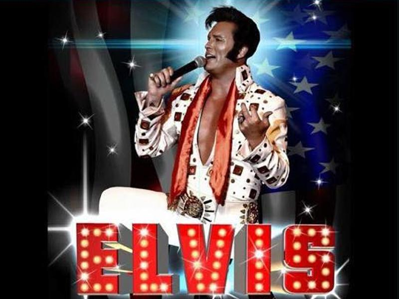 From Benidorm to Paisley Simon Patrick as Elvis