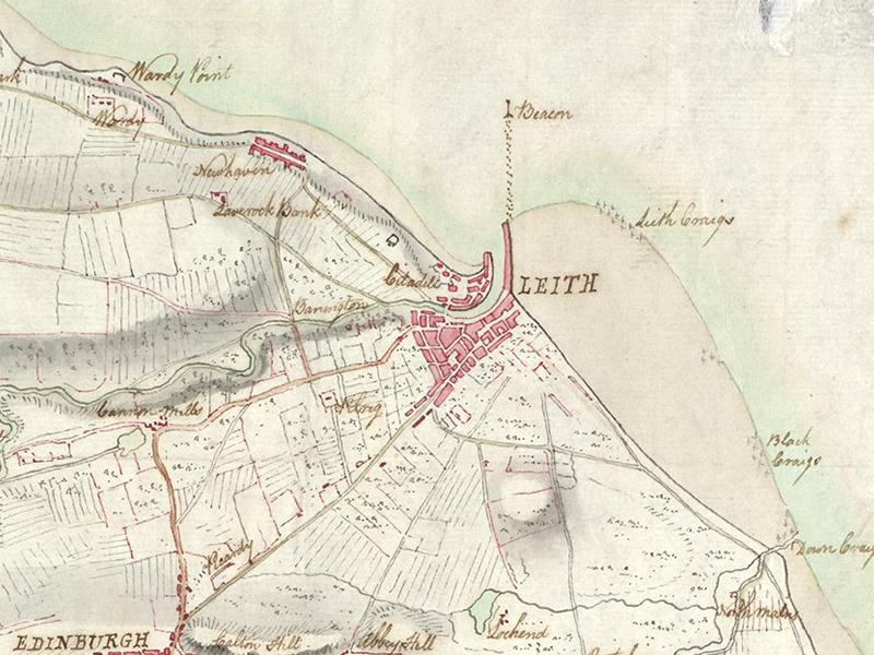 Lecture: Discovering Leith through Maps