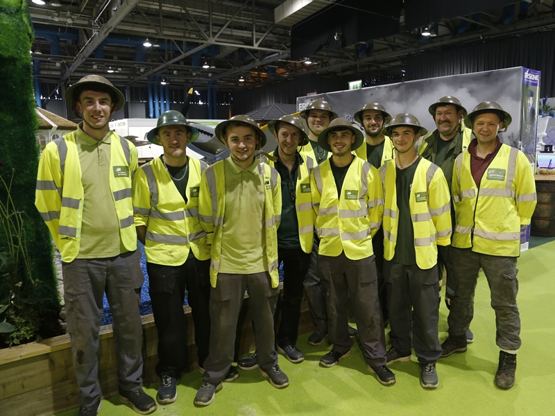 Volunteer for Erskine at the Ideal Home Show Scotland 2018