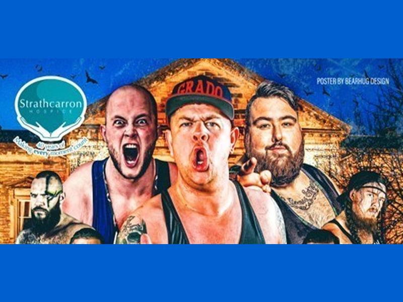 Halloween Wrestling Spectacular in Aid of Strathcarron Hospice