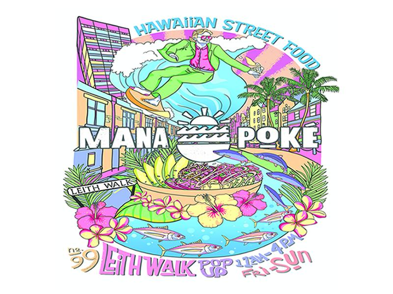 Mana Poke pop up in Leith