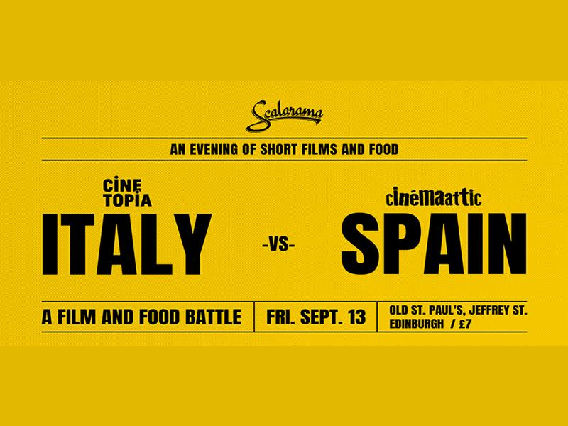 Italy vs Spain: Film and Food Challenge