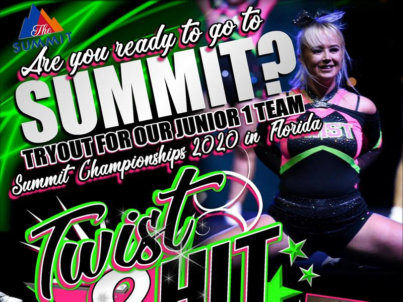 Twist & Hit: Summit Team Information Evening & Tryouts