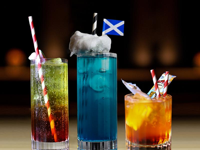 New Street Food Menu and Euros Inspired Scottish Cocktail Kick Off Summer At Fore Play Crazy Golf