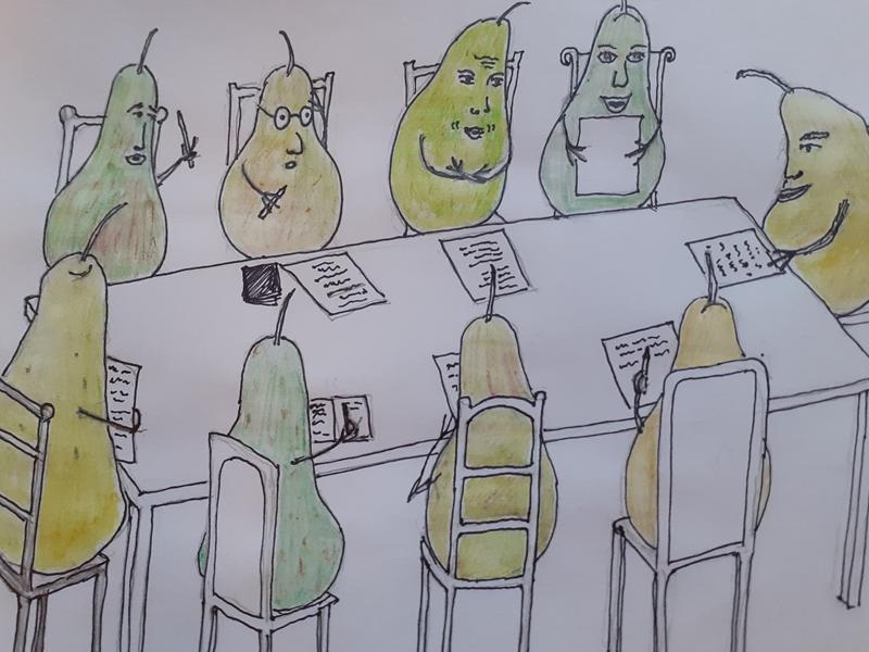 Pears of Poems Poetry Workshop