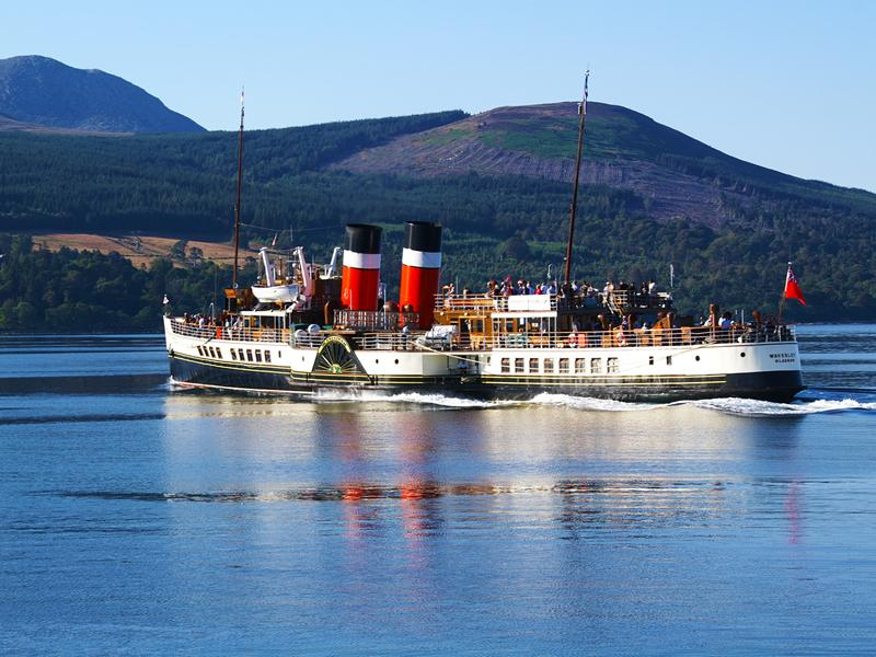 Paddle Steamer Waverley Excursions