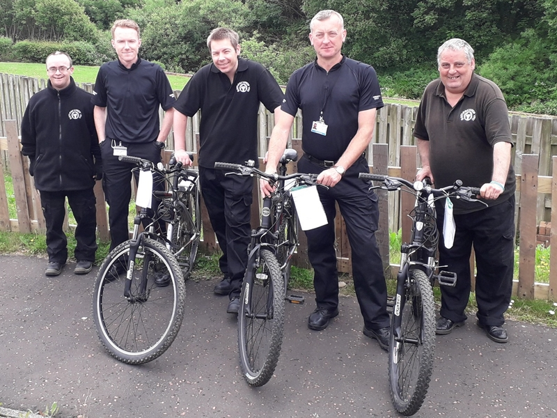Cycling group gets local wardens ready to pedal this summer