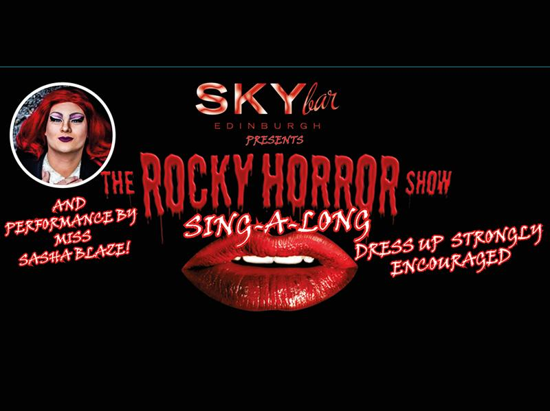 Rocky Horror Sing-a-long Drag Show with Miss Sasha Blaze