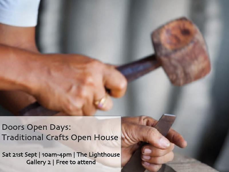 Doors Open Days: Traditional Crafts Open House at the Lighthouse