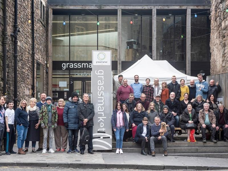 Support the Grassmarket Community Project PLAN C