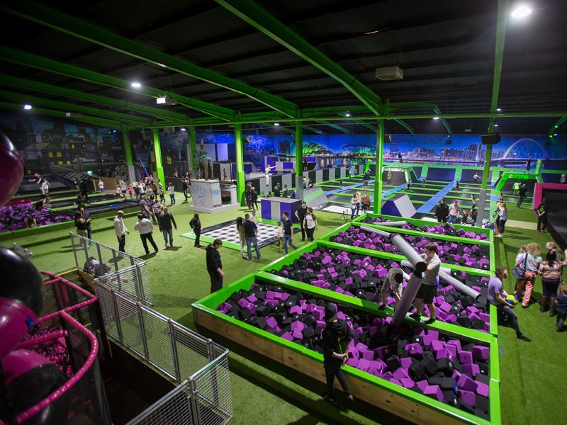 Bounce into Summer at Flip Out Glasgow