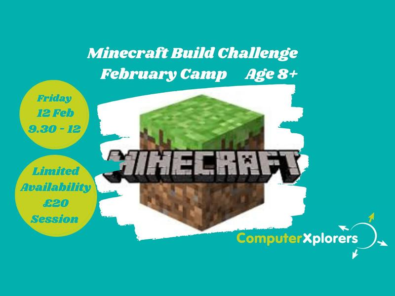 Minecraft Build Challenge - February Camp for Kids