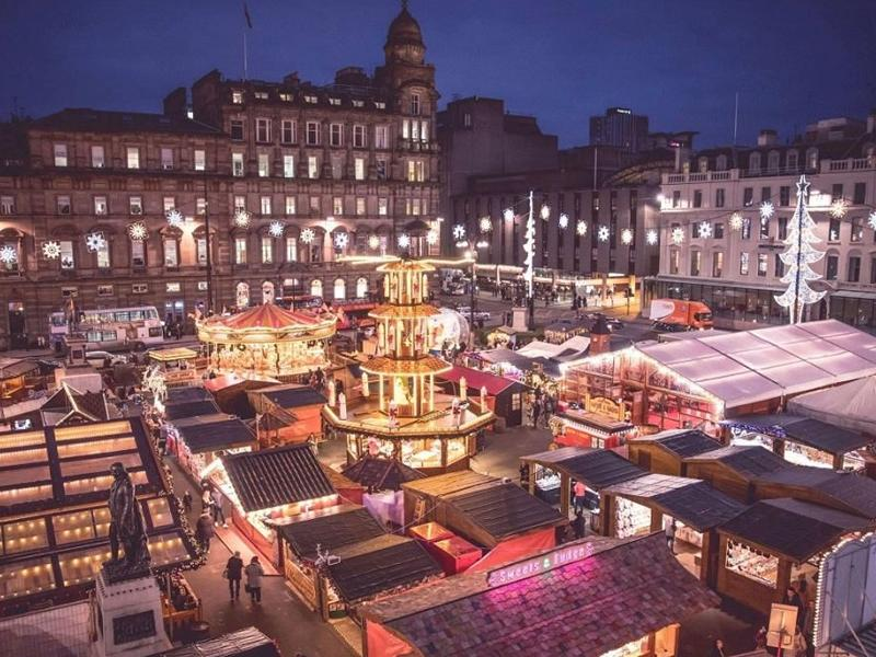 Glasgow Christmas Markets