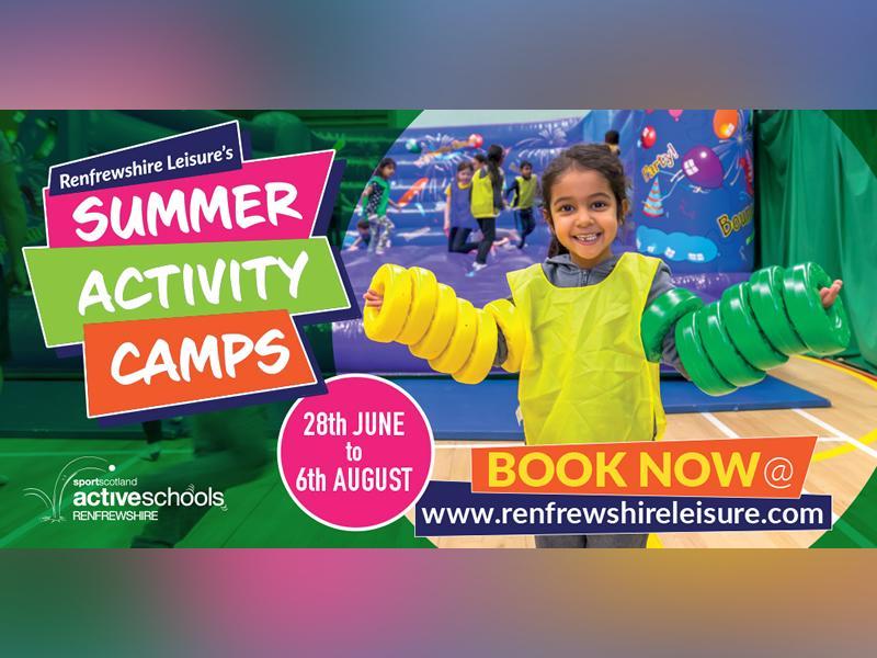 Renfrewshire Leisure Summer Activity Camps