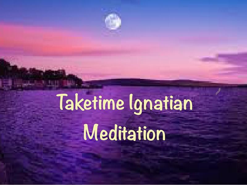 Taketime Ignatian Meditation Sessions