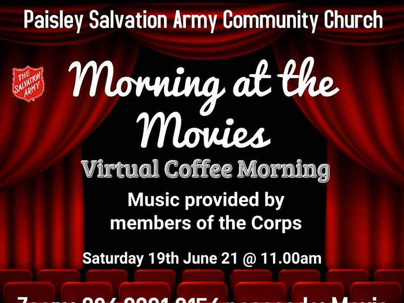 ZOOM: Coffee Morning at the Movies