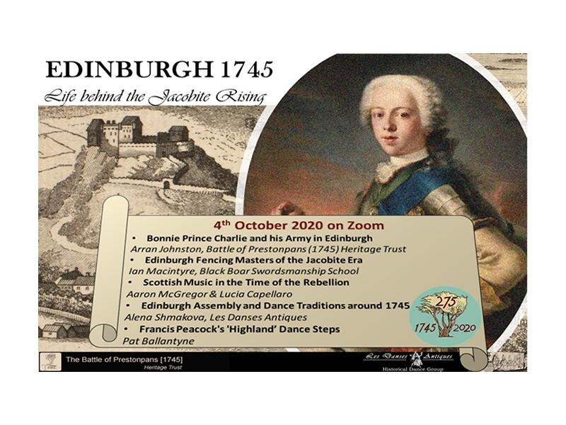 Edinburgh 1745: Life behind the Jacobite Rising