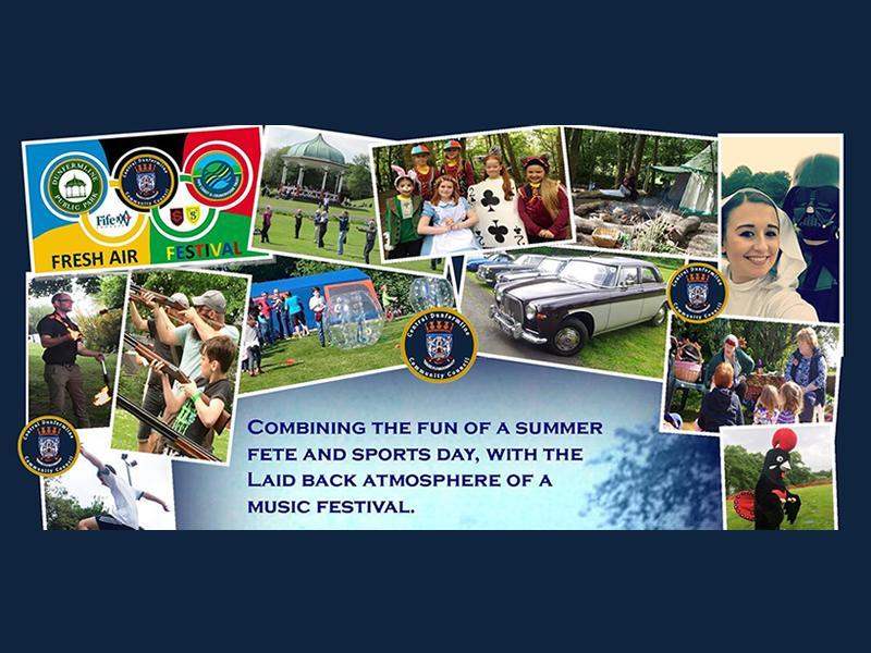 Dunfermline Fresh Air Festival 2021