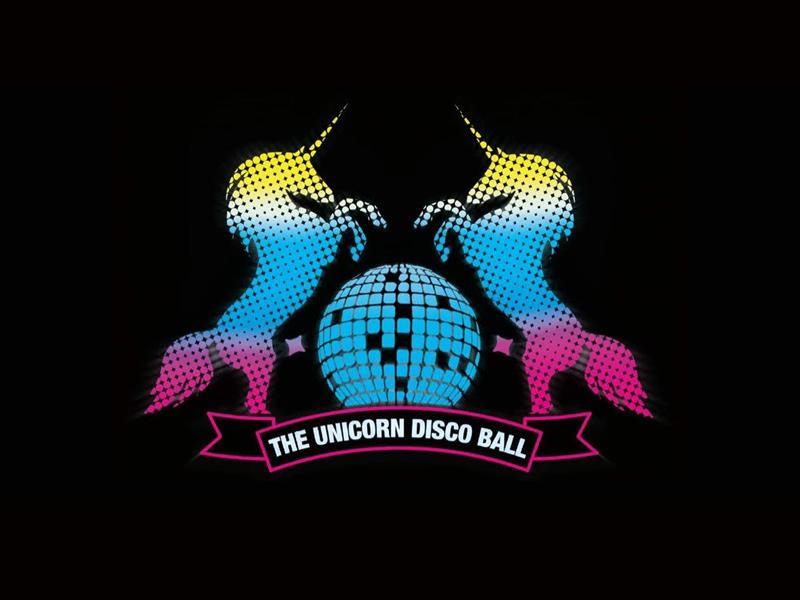 The Unicorn Disco Ball - Christmas Wonderland