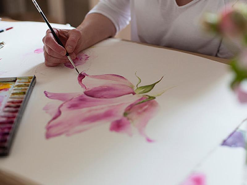 Watercolour Painting Online Classes Autumn 2021