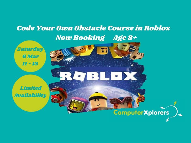 Create Your Own Obstacle Course in Roblox Creator Age 8+