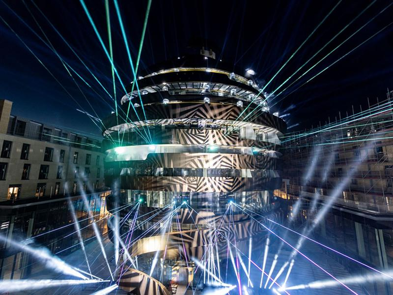 The City of Edinburgh ignites the official countdown to the St James Quarter opening