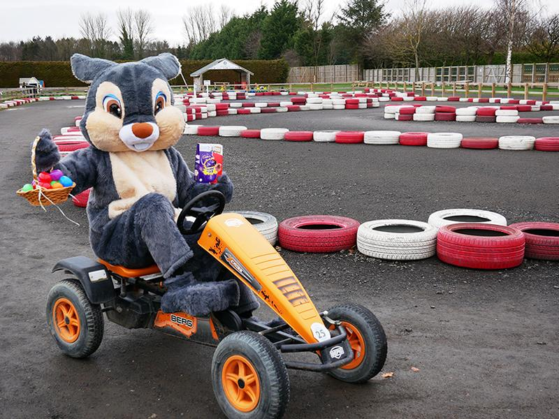 The annual Easter egg hunt is back at Conifox Adventure Park